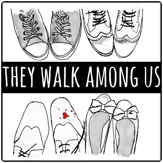 They Walk Among Us Cover