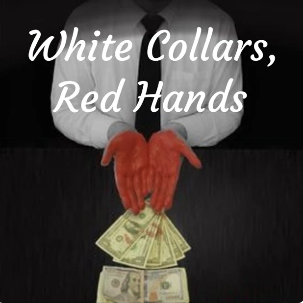 White Collars, Red Hands Cover