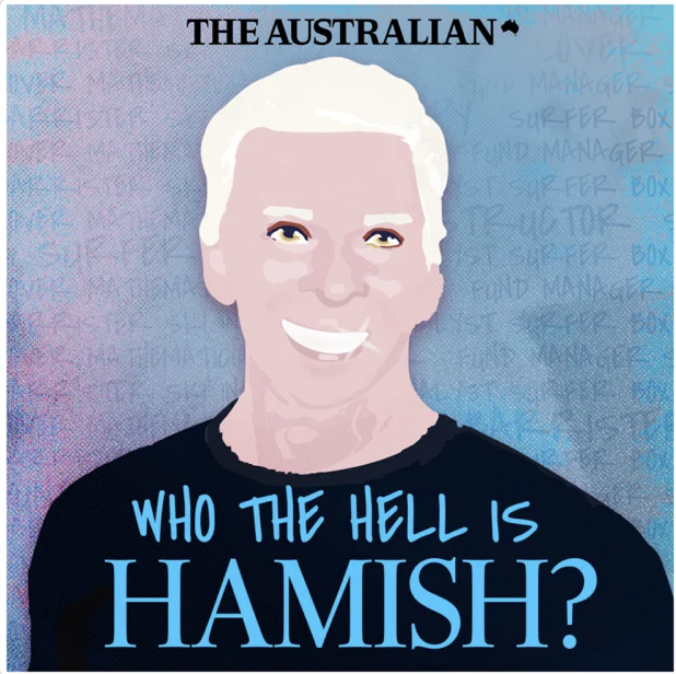 Who the Hell is Hamish Cover