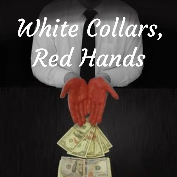 White Collars Red Hands Cover